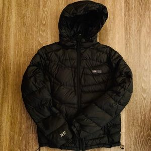 REI Cordillera Black Down Jacket